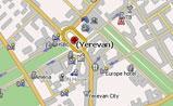 мини карта Еревана