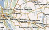 мини карта Украины
